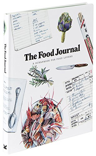 The Food Journal: A Scrapbook for Food Lovers by Magma (2015-09-07)