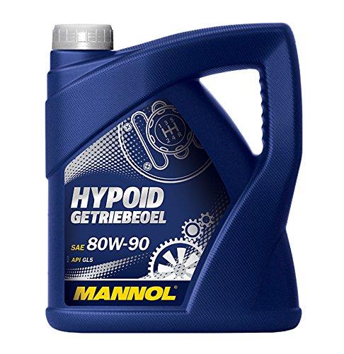 Hypoid-getriebeöl (MANNOL Hypoid Getriebeoel 80W-90 API GL 4/GL 5 LS, 4 Liter)