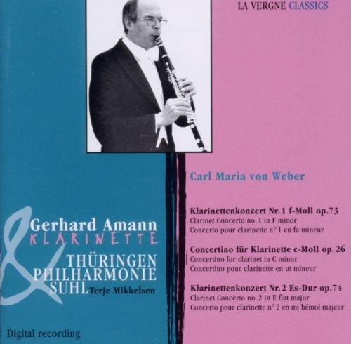 Klarinettenkonzert 1 und 2 und Op. 2