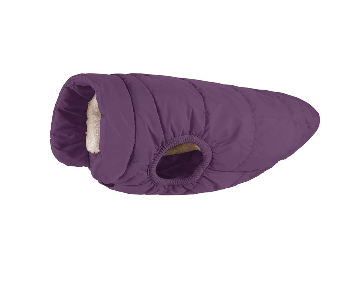 Kismaple Dog Cosy Fleece Jacket Winter Lined Coat Clothes Warm Padded for Small Medium Large Dogs 2