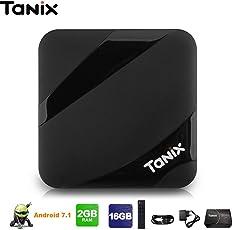 SreeTeK™️ TX3 MAX Android 7.1, Android TV Box 2GB/16GB Amlogic S905W UHD 4K 1080P BT 4.2 Miracast KODI Smart TV Box Android TV Box Set Top Box Tx3 Mini X96 Mini
