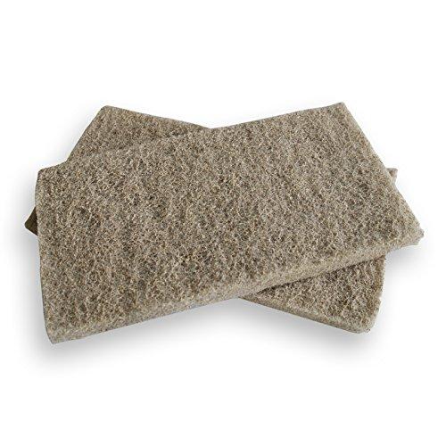 SunSun Biochemische Baumwolle zur Adsorption von Ammoniak Nitrit/Nitrat organischen Schadstoffen 280x150mm -