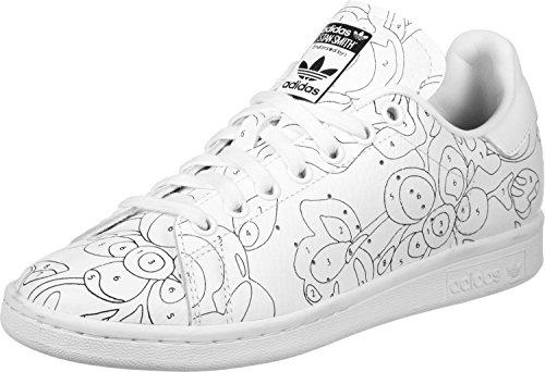 adidas Stan Smith Ro W Femmes Baskets Blanc