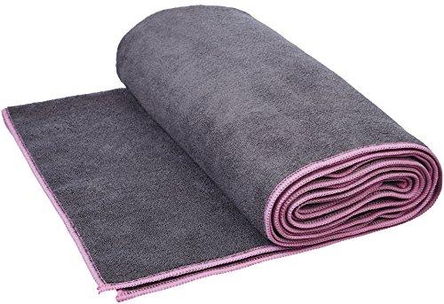 AmazonBasics - Toalla para yoga, Rosa