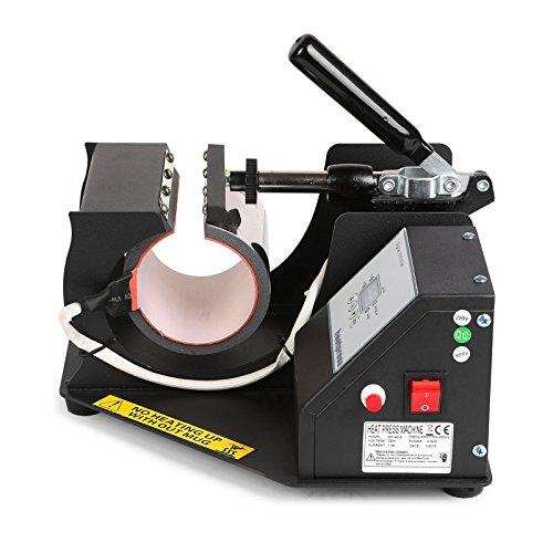 Lartuer Transferpresse Tassenpresse Heat Press Machine für zylindrische und konische Tassen 2 in 1 Digitale Zeitregelung und Temperaturüberwachung (2 in 1 Tassen) - 8