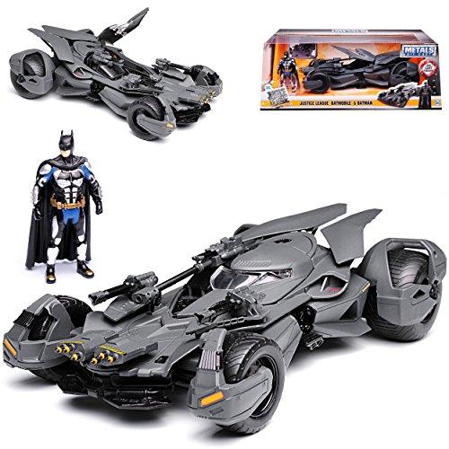mobile und Batman Justice League mit Figur 1/24 Jada Modell Auto (Batmobile Batman)