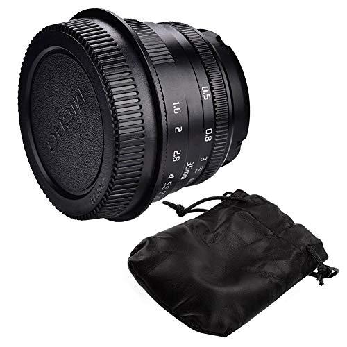 Simlug Kameras Fotografie Objektive, 35 mm f1.6 Manuelle Fokussierlinse für spiegellose Objektive Zubehör(for Canon Mount)