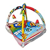 #10: Baby play gym bedding Set with Mosquito Net for New Born baby with hanging toys(Blue)