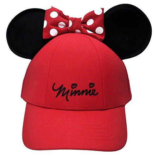 Disney Damen Minnie Maus Schleife Ohren Baseball Hat, ()