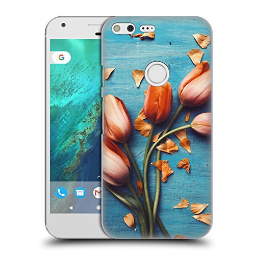 official-olivia-joy-stclaire-orange-tulips-on-the-table-hard-back-case-for-google-pixel-xl