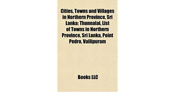 Amazon in: Buy Cities, Towns and Villages in Northern Province, Sri