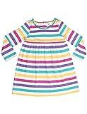 Orgaknit Organic Cotton Colourful Stripes Dress 2-3 Years