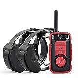 HCCF Antibell und Erziehungshalsband, Hundehalsband und Vibration bis Zu 880 Yards Halsbänder mit Piepton,B