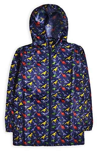 Generic Boys Lightweight Printed Hooded Anorak