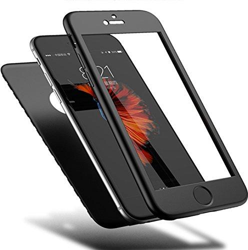 iphone 6 Plus/6S Plus Hülle 360 Grad Weich silicone Komplettschutz Vorder und Rückseiten Schutz Schale Ganzkörper-Koffer silicone Schutzhülle DECHYI Handy-Hülle für iphone 6 Plus/6S Plus (5.5