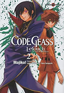 Code Geass - Lelouch of the Rebellion Edition simple Tome 2