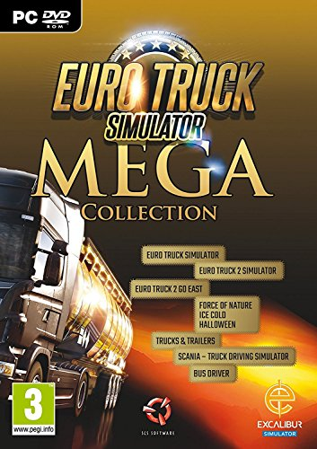 Euro Truck Mega Collection (PC DVD) UK IMPORT