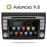 Aumume Android 9.0 Autoradio Radio per FIAT/Bravo(2007-2012) con Navigatore Supporta Mirrorlink Bluetooth DAB+