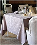 Garnier thiebaut 30170Mille Charmes camino de mesa algodón Antracita 180x 55cm