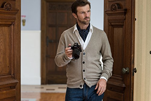 Sony Alpha 7R Fotocamera Digitale Compatta con Obiettivo Intercambiabile, Sensore CMOS Exmor Full-Frame da 36,4 Megapixel, Nero