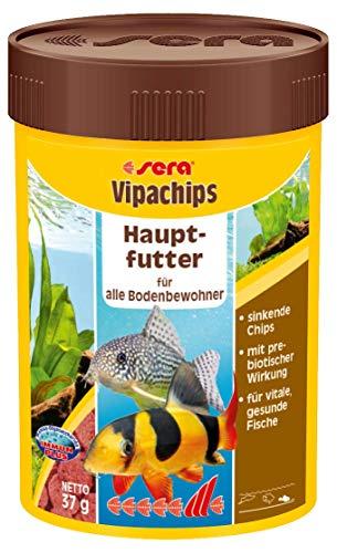 Sera Vipachips – Aliment de base complet sous forme de chips pour poissons de fond
