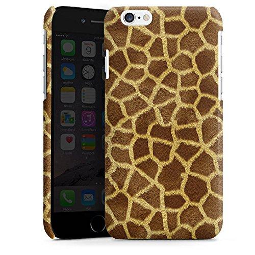 Apple iPhone 5s Housse Étui Protection Coque Look girafe Fourrure Animaux Cas Premium brillant