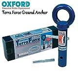 Oxford Terra Force Bodenanker Motorrad Verkauf sicher Sicherheit Schwerlast Beton in Stahl Boden Anker