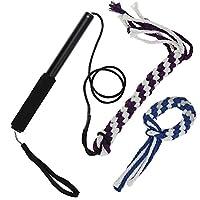 Interactive Dof Puppy Teaser avec coton corde rétractable Corde de dressage de chien Tease jouet
