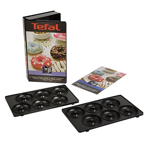 Tefal XA801112 Snack Collection Donut Maker Non Stick Plates Set (Accessory)