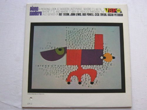 Various Piano Modern LP Verve VSPS13 EX/EX 1960s US pressing, electonically enhanced stereo, with Cecil Taylor, Bud Powell & John Lewis Buds Stereo