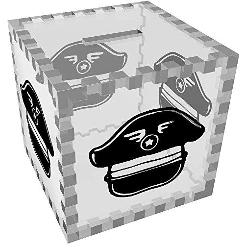 Azeeda 'Sombrero de piloto' Caja de Dinero / Hucha (MB00056141)