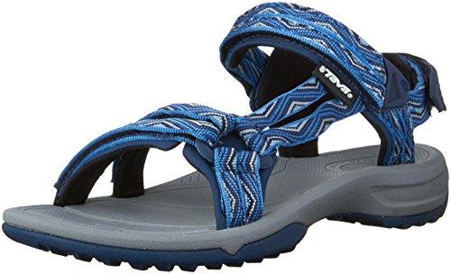 Teva - Terra Fi Lite W'S, Sandali Sportivi da donna, Blu (814 trueno blue), 37