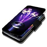 Book Style Flip Handy Tasche Case Schutz Hülle Schale Motiv Etui für Huawei Ascend G525 - A40 Design7