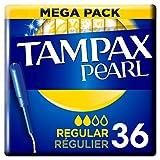 Tampax Pearl Regular Tampons Applicator 36X