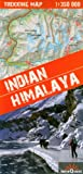 Himalaya Indio, Indian Himalaya, mapa excursionista plastificado. Escala 1:350.000. Kaszmir, Ladakh, Zanskar, Lahul, Rupshu, Spiti, Kinnaur, Garhwal, Kumaon and additional Sikim. terraQuest.