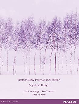 Algorithm Design: Pearson New International Edition by [Kleinberg, Jon, Tardos, Eva]