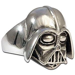 Darth Vader – Dunkle Seite der Macht Silberring aus 925er Sterling Silber