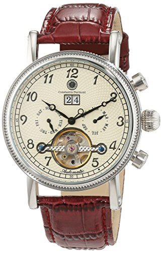 Constantin Durmont Men's Watch San Juan CD-SANJ-AT-LT-STST-CR