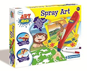 Clementoni Art Attack Spray Art