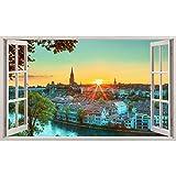 LoveSticker AP150 Wandaufkleber/Poster, Motiv Bern Schweiz
