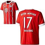 adidas FC Bayern München FCB Herren Home Trikot 2017 2018 Jerome Boateng 17 Gr M