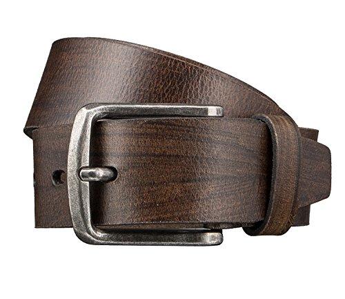 LLOYD Men's Belts Gürtel Herrengürtel Ledergürtel Herrenledergürtel Beige 3420, Farbe:Braun, Länge:95