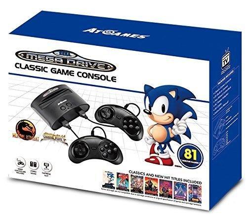 Console Retro Sega Megadrive + 81 jeux – édition 2017-2018