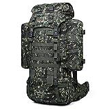 Mardingtop Rucksack 65+10L Taktischer Rucksack Wanderrucksack Trekkingrucksack YKK Zipper mit der großen Kapazität