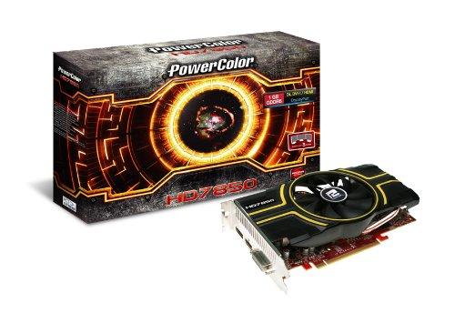 PowerColor AMD Radeon HD 7850 Grafikkarte (PCIe, 1GB DDR5 Speicher, DVI, HDMI, DisplayPort, VGA, 1 GPU) - Powercolor Radeon Hd Pcs