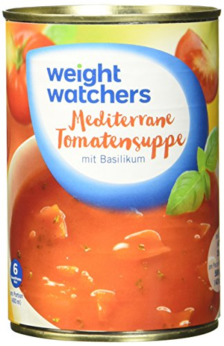 Weight Watchers Mediterrane Tomatensuppe 400 ml, 6er Pack (6 x 400 ml)