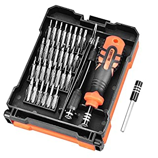 aceyoon Mini Screwdriver Kit 34 in 1 Precision & Magnetic Torx Screw Driver Set Small Professional DIY Repair Tool Kit Compatible for Android PC Smart Phone Glasses Laptop Camera