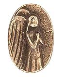 Bronze Handschmeichler Engel, 3,5 x 5 cm