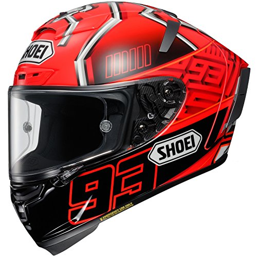 Shoei X-Spirit 3 Marquez Motorcycle Helmet M Red Black
