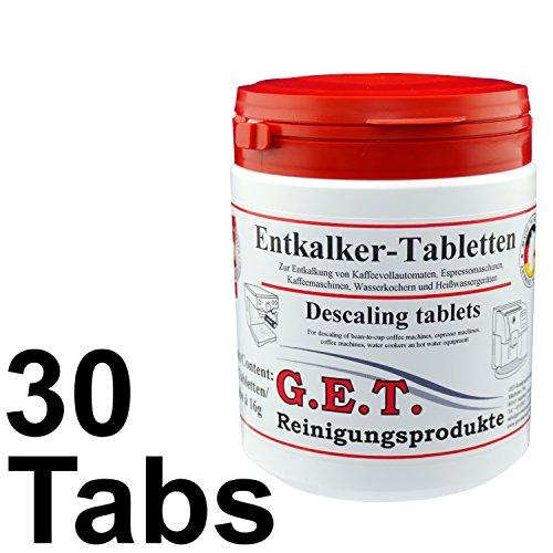 GET pastiglie anticalcare 30 x 16g per